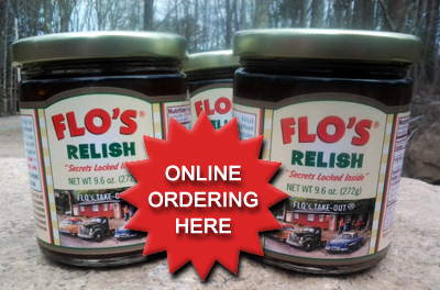 Flos famous secret hot dog relish order online maine